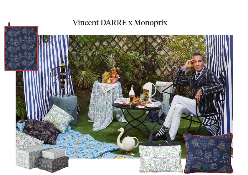 Les collab' déco en 2021 Vincent Darré x Monoprix