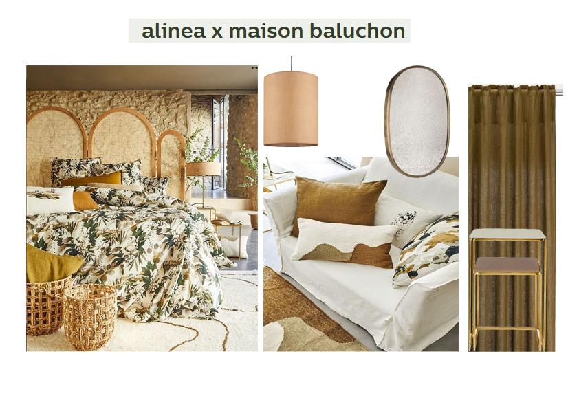 collection Alinéa et Maison Baluchon