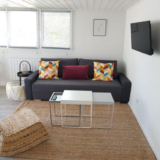 appartement meublé avec terrasse privative